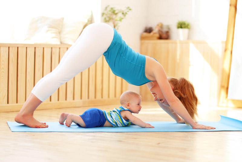 Parent Baby Yoga Class Oak Street Studios Fitness
